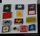Christmas Book Card Page