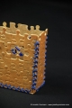 gold castle box closeup