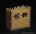gold castle box