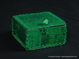 green box with lid